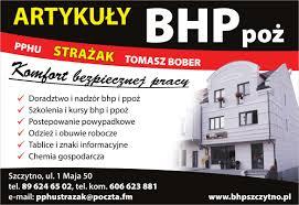 PPHU Strażak Tomasz Bober - Szkolenia BHP