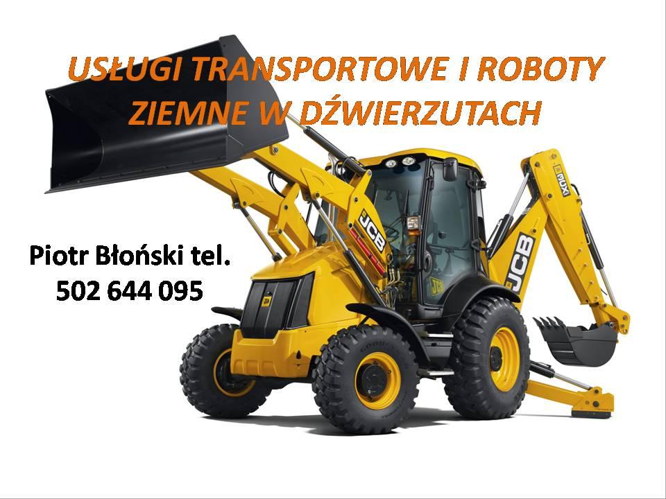 Usługi Transportowe Piotr Błoński
